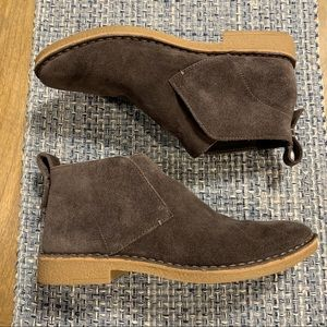 Dolce Vita faux suede slip on Bootie size 7 gray